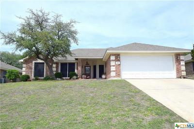 Copperas Cove Single Family Home For Sale: 3512 Jacob