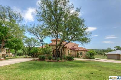 Spring Branch TX Single Family Home For Sale: $800,000
