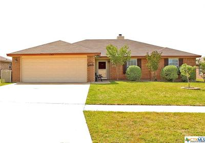 Killeen Single Family Home For Sale: 3803 Jake Spoon Drive