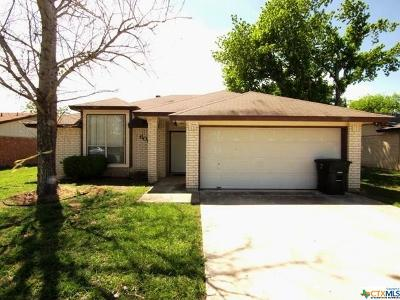 Killeen Single Family Home For Sale: 606 Colonial