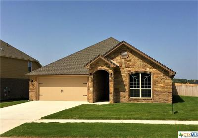 Harker Heights, Killeen, Temple Single Family Home For Sale: 7801 Zircon