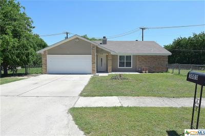 Killeen Single Family Home For Sale: 3003 Persimmon