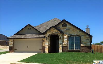 Killeen Single Family Home For Sale: 7800 Blue Nile
