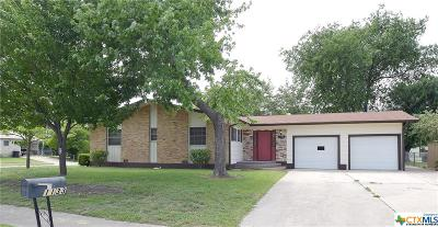 Killeen Single Family Home For Sale: 1133 Meadow