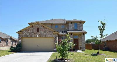 Killeen Single Family Home For Sale: 7100 Cokui