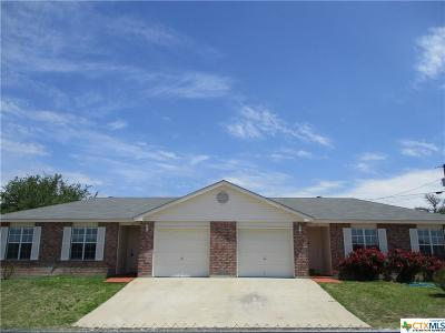 Copperas Cove Single Family Home For Sale: 132-134 Blackbear Lane