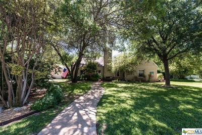 Belton Single Family Home For Sale: 703 Wall Street