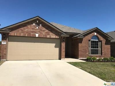 Temple Single Family Home For Sale: 1411 Fawn Lily