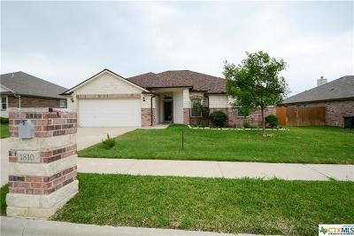 Copperas Cove Single Family Home For Sale: 1810 Walker Place