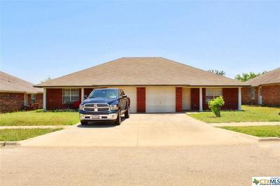 Killeen Single Family Home For Sale: 3204 Toledo #1&2