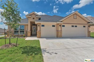 Killeen TX Single Family Home For Sale: $283,660