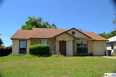 Killeen Single Family Home For Sale: 2406 Woodlands Drive