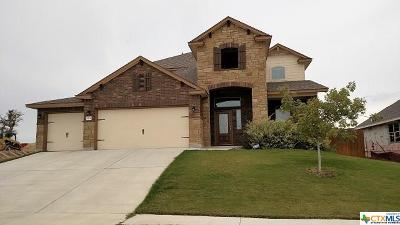 Killeen Single Family Home For Sale: 5120 Siltstone