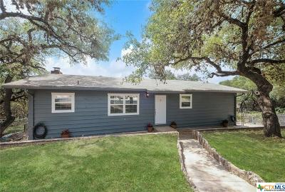 Canyon Lake Single Family Home For Sale: 164 Lost Oak
