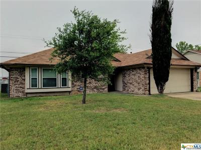 Killeen Single Family Home For Sale: 2304 Edgefield