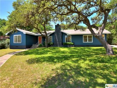 San Marcos Single Family Home For Sale: 104 Canyon Road