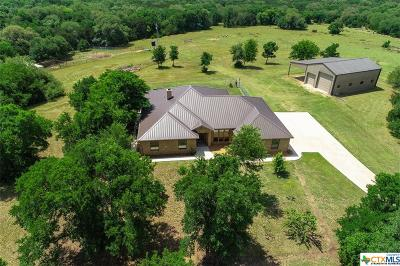 Bosque County, Bell County, Burnet County, Calhoun County, Coryell County, Lampasas County, Limestone County, Llano County, McLennan County, Mills County, Milam County, San Saba County, Williamson County, Hamilton County, Travis County, Comal County, Comanche County, Kendall County Single Family Home For Sale: 3280 Worth Lane