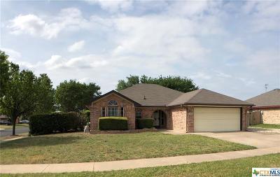 Killeen Single Family Home For Sale: 4201 Adobe Drive