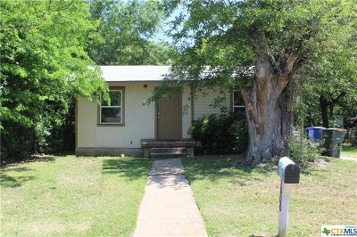 Copperas Cove Single Family Home For Sale: 1000 Morris Drive