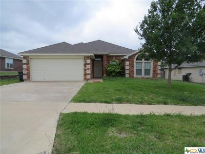 Killeen TX Single Family Home For Sale: $141,500