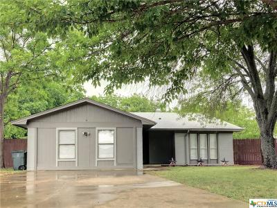 Killeen Single Family Home For Sale: 1303 Circle Tree Loop