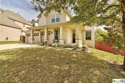 Cedar Park Single Family Home For Sale: 2312 Dervingham Drive