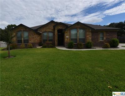 Belton Single Family Home For Sale: 970 Ridgeoak