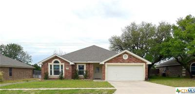 Copperas Cove Single Family Home For Sale: 3717 Settlement