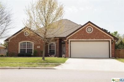 Harker Heights Single Family Home For Sale: 1438 Loblolly