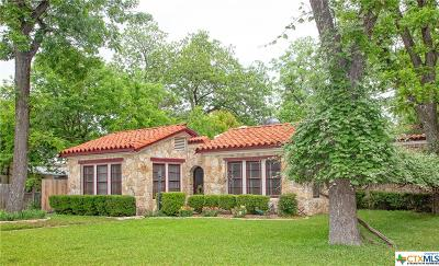 New Braunfels Single Family Home For Sale: 857 W Mill