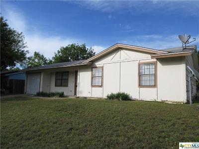 Copperas Cove Single Family Home For Sale: 908 Traci