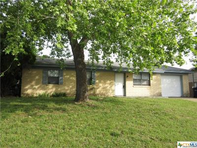 Copperas Cove Single Family Home For Sale: 712 N 19th