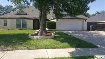 Killeen Single Family Home For Sale: 6007 Mosaic Trail