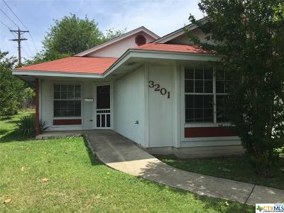 Killeen Single Family Home For Sale: 3201 Lake Inks Ave.