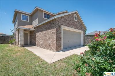 Killeen Single Family Home For Sale: 2401 Waterfall Drive