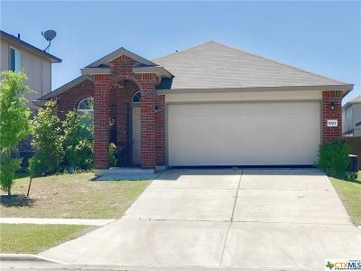 Killeen TX Single Family Home For Sale: $138,499