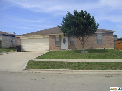 Killeen Single Family Home For Sale: 4211 Tidal Wave Drive
