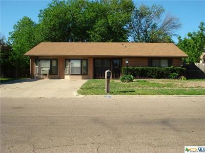 Killeen Single Family Home For Sale: 1401 Carrollton Avenue