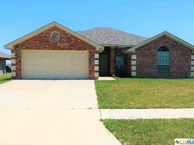 Copperas Cove TX Single Family Home For Sale: $155,000