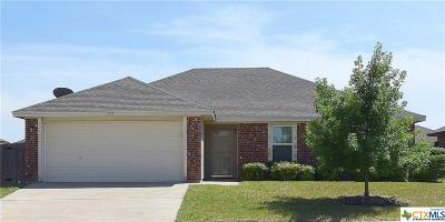 Killeen Single Family Home For Sale: 406 N Constellation Street