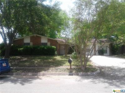 Killeen Single Family Home For Sale: 3204 Brookbend Drive
