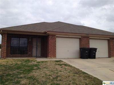 Killeen Single Family Home For Sale: 3007 Dannen