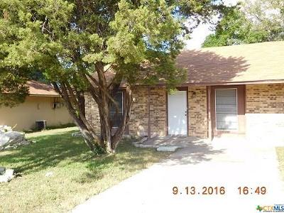 Harker Heights Rental For Rent: 1503 Indian Trail #B