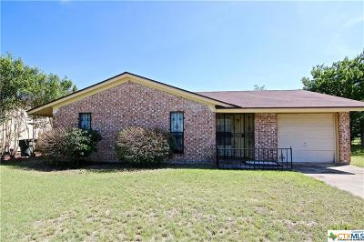 Killeen Single Family Home For Sale: 3708 Griffin Drive