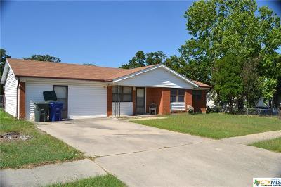 Copperas Cove Single Family Home For Sale: 2404 Post Oak Avenue