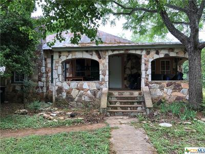 San Marcos Single Family Home For Sale: 1123 Alamo