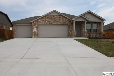 Killeen Single Family Home For Sale: 3709 Endicott