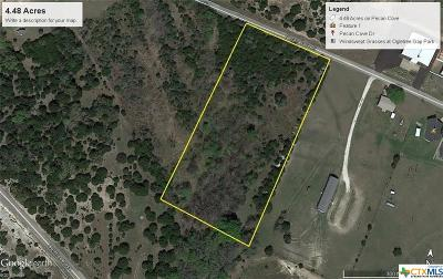 Copperas Cove Residential Lots & Land For Sale: 4.48 Acres Pecan Cove