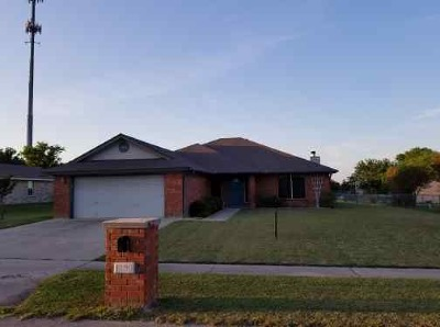 Copperas Cove TX Single Family Home For Sale: $169,900