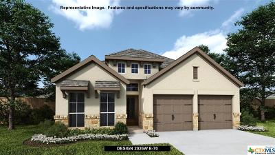 San Marcos TX Single Family Home For Sale: $324,900